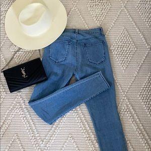 J Brand Super high rise jeans